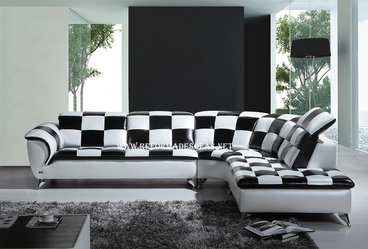 Image Result For White Leather Sectional Sofa Decorating Ideas